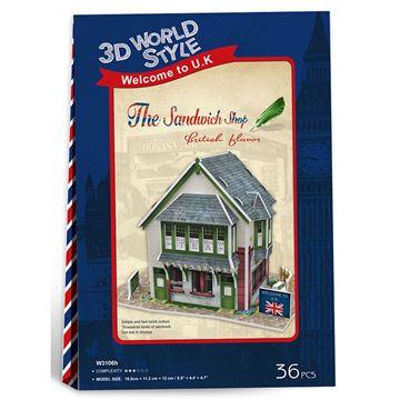 Picture of 3D Puzzle - The Sandwich Shop