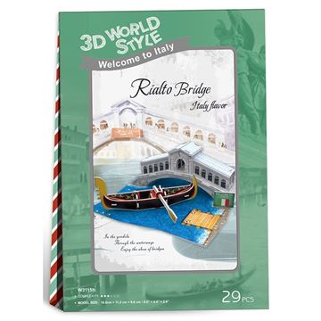 Picture of 3D Puzzle - Rialto Bridge