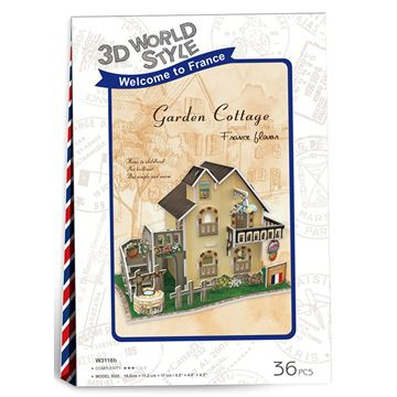Picture of 3D Puzzle - Garden Cottage
