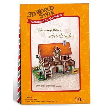 Picture of 3D Puzzle - Art Studio