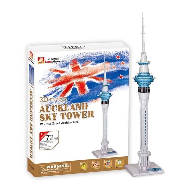 Picture of 3D Puzzle - Auckland Sky Tower