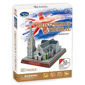 Picture of 3D Puzzle - Christchurch Cathedral