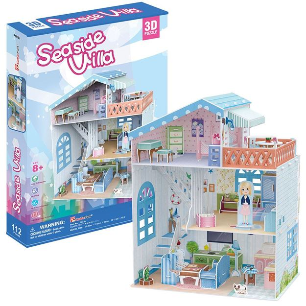 Picture of 3D Puzzle - Seaside Villa