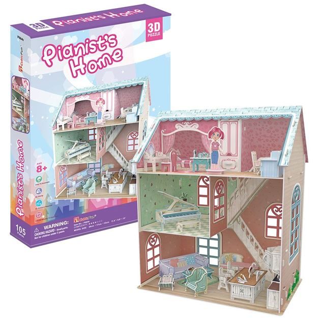 Picture of 3D Puzzle - Pianists House