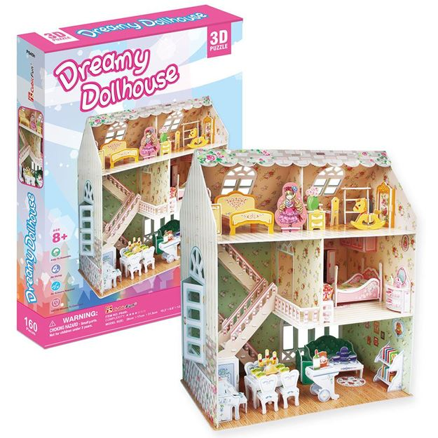 Picture of 3D Puzzle -  Dreamy Dollhouse