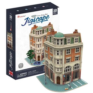 Picture of 3D Puzzle - Corner Savings Bank Jigscape