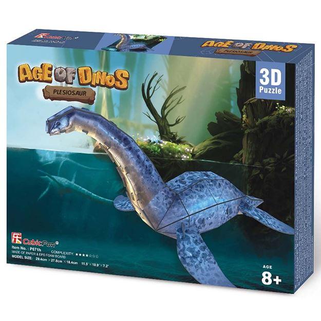 Picture of 3D Puzzle - Pleisaurus Dinosaur