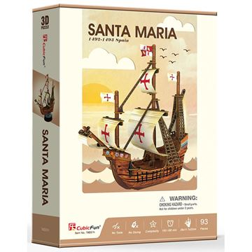 Picture of 3D Puzzle - Santa Maria Ship Series Sml