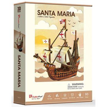 Picture of 3D Puzzle - Santa Maria Ship Series Sml