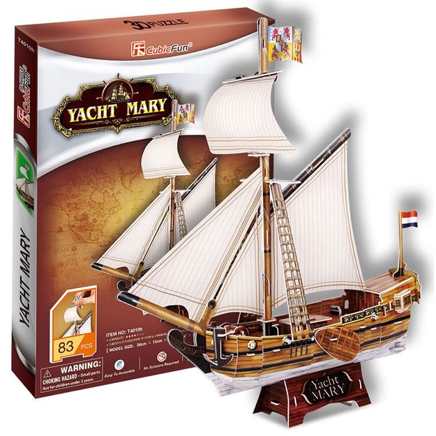 Picture of 3D Puzzle - Yacht Mary