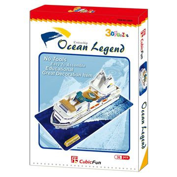 Picture of 3D Puzzle - Ocean Legend Cruise Ship