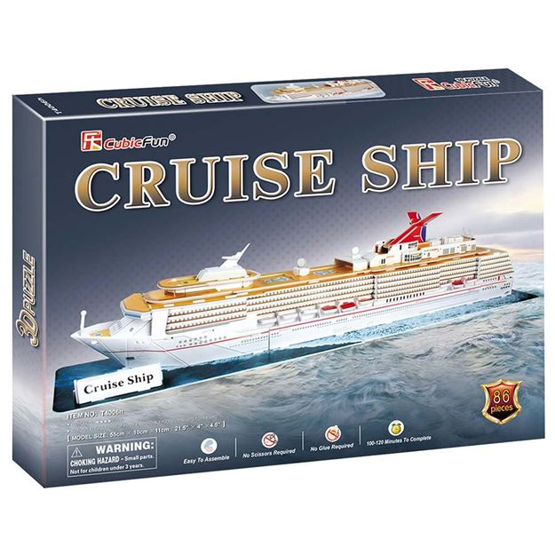 Picture of 3D Puzzle - Cruise Ship