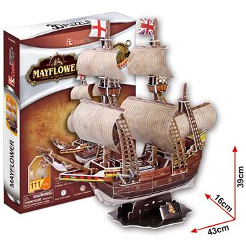 Picture of 3D Puzzle - Mayflower