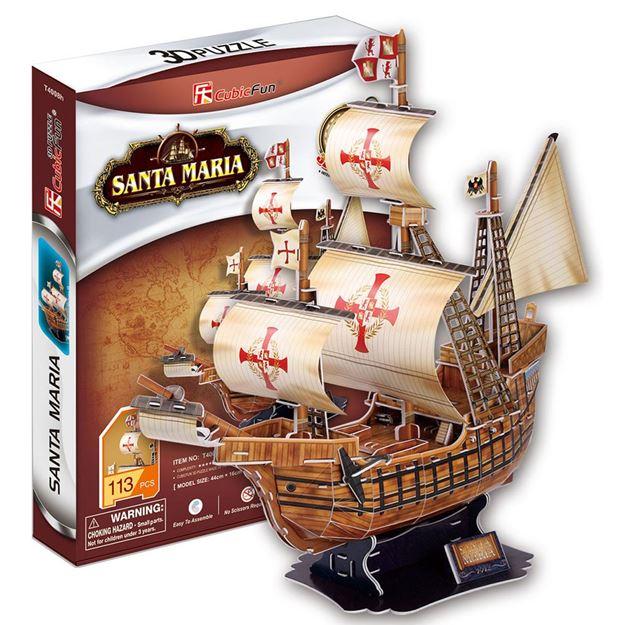 Picture of 3D Puzzle - Santa Maria