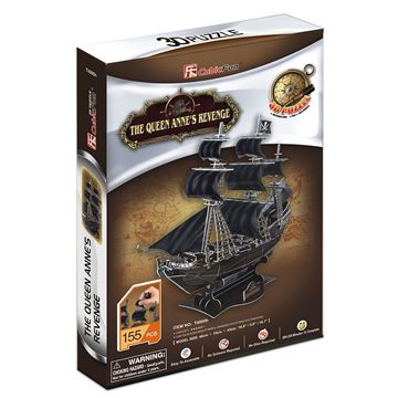 Picture of 3D Puzzle - Queen Anne's Revenge Sml