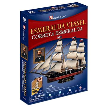 Picture of 3D Puzzle - Esmeralda Vessel
