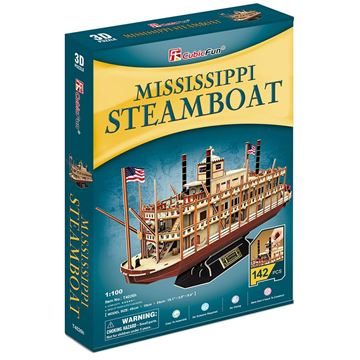 Picture of 3D Puzzle - Mississippi Steamboat