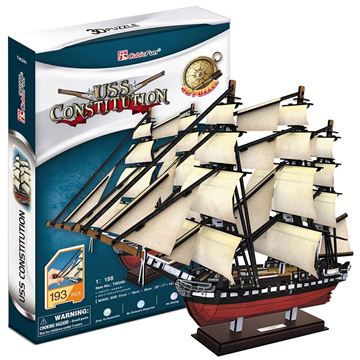 Picture of 3D Puzzle - USS Constitution