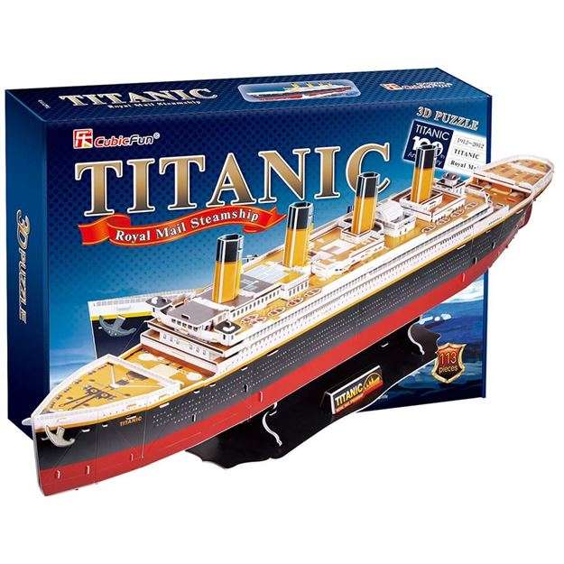 Picture of 3D Puzzle - Titanic Large