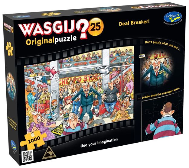 Picture of Holdson Puzzle - Wasgij Original 25 1000pc (Deal Breaker)
