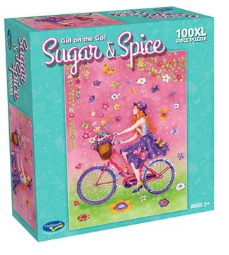 Picture of Holdson Puzzle - Sugar & Spice 100pc XL (Girl On The Go!)