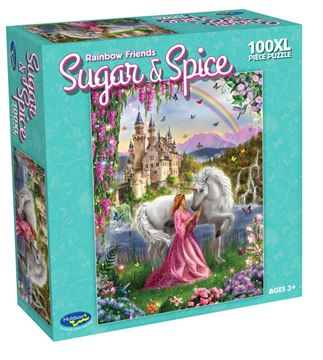 Picture of Holdson Puzzle - Sugar & Spice 100pc XL (Rainbow Friends)