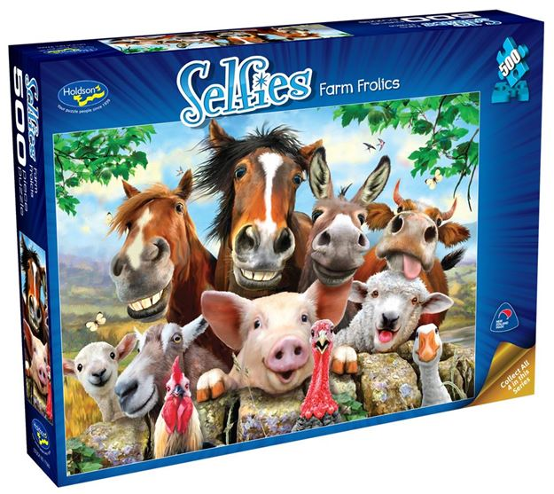 Picture of Holdson Puzzle - Selfies S2 500pc (Farm Frolics)