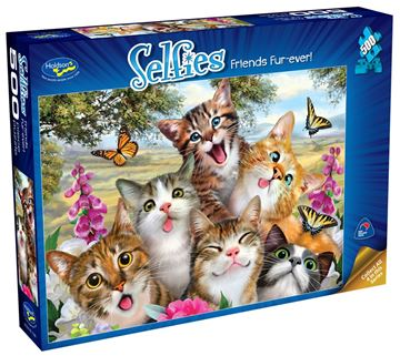 Picture of Holdson Puzzle - Selfies S2 500pc (Friends Fur-ever!)