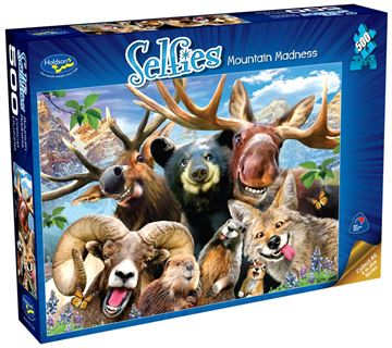 Picture of Holdson Puzzle - Selfies S2 500pc (Mountain Madness)