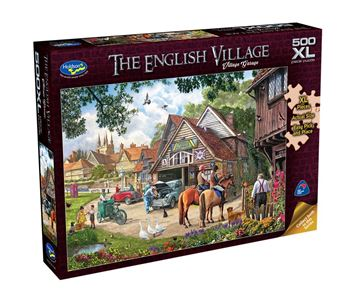 Picture of Holdson Puzzle - The English Village 500pc XL (Village Garage)