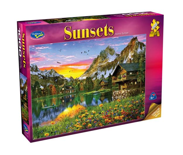 Picture of Holdson Puzzle - Sunsets S2 1000pc (Alpine Sunset)