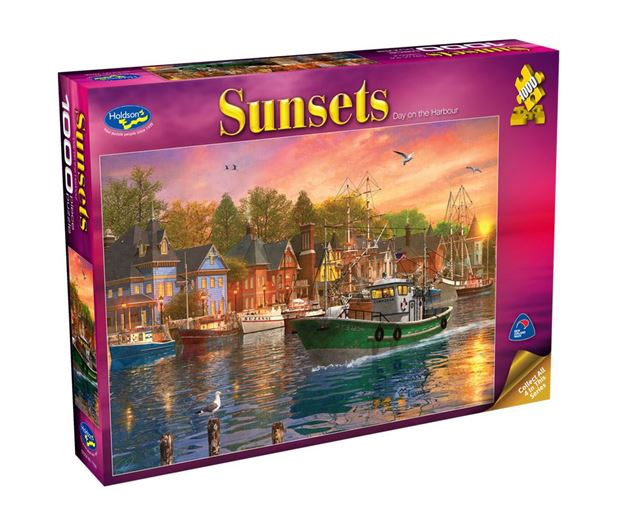 Picture of Holdson Puzzle - Sunsets S2 1000pc (Day On The Harbour)