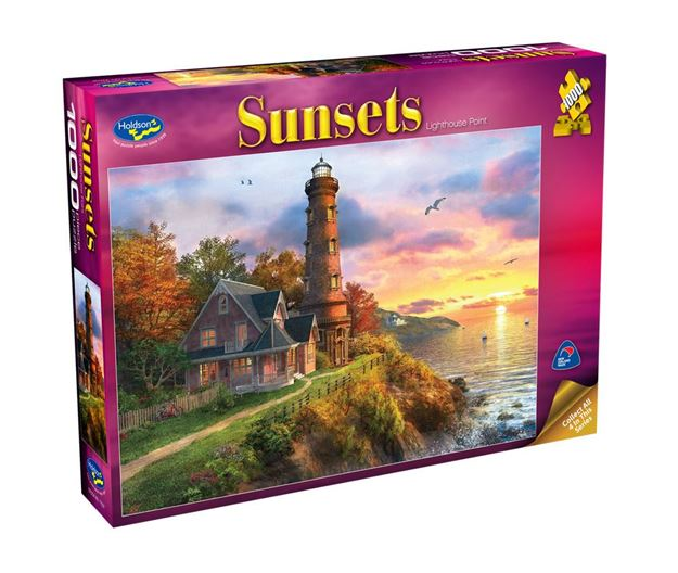 Picture of Holdson Puzzle - Sunsets S2 1000pc (Lighthouse Point)