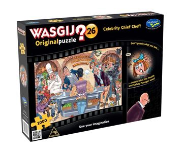 Picture of Holdson Puzzle - Wasgij Original 26 1000pc (Celebrity Chief Chef)