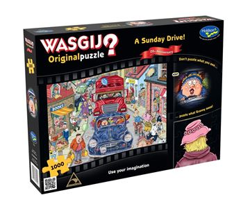 Picture of Holdson Puzzle - Wasgij 20th Anniversary 1000pc (A Sunday Drive)