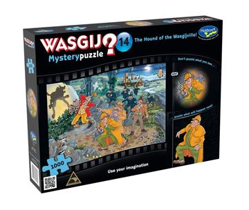 Picture of Holdson Puzzle - Wasgij Mystery 14 1000pc (The Hound Of The Wasgijville)