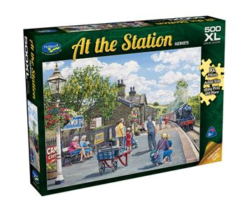Picture of Holdson Puzzle - At The Station 500pc XL (Oakworth)