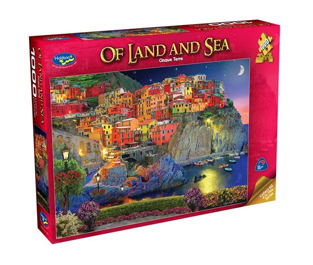 Picture of Holdson Puzzle - Of Land And Sea 1000pc (Cinque Terre)
