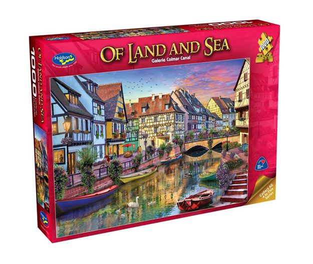 Picture of Holdson Puzzle - Of Land And Sea 1000pc (Galerie Colmar Canal)