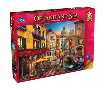 Picture of Holdson Puzzle - Of Land And Sea 1000pc (Venice Canal Café)