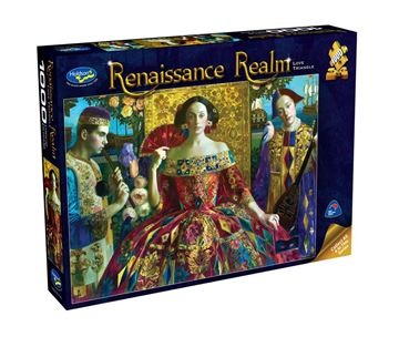 Picture of Holdson Puzzle - Renaissance Realm 1000pc (Love Triangle)