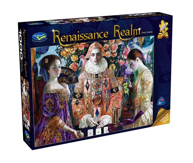 Picture of Holdson Puzzle - Renaissance Realm 1000pc (The Game)
