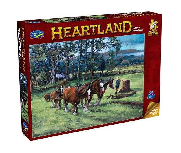 Picture of Holdson Puzzle - Heartland S2 1000pc (All In A Days Work)