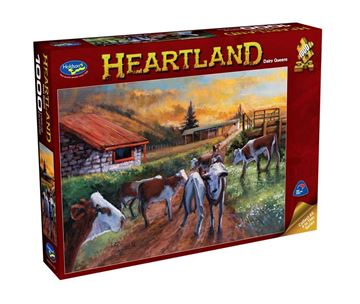Picture of Holdson Puzzle - Heartland S2 1000pc (Dairy Queens)