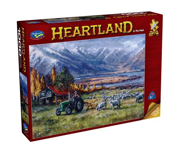 Picture of Holdson Puzzle - Heartland S2 1000pc (In The Field)