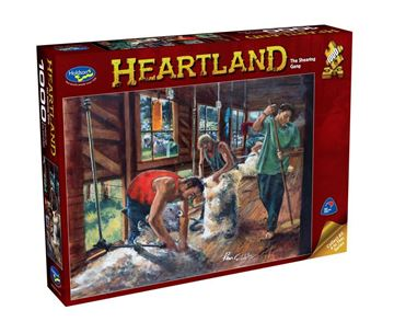 Picture of Holdson Puzzle - Heartland S2 1000pc (The Shearing Gang)