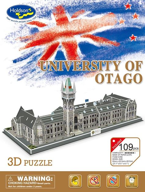 Picture of 3D Puzzle - University of Otago