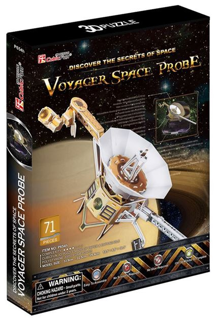 Picture of 3D Puzzle - Voyager Space Probe