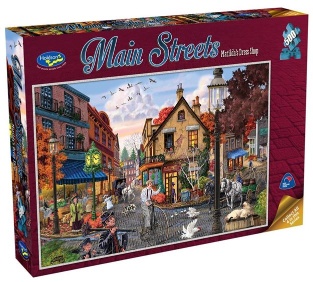 Picture of Holdson Puzzle - Main Streets 500pc (Matilda's Dress Shop)