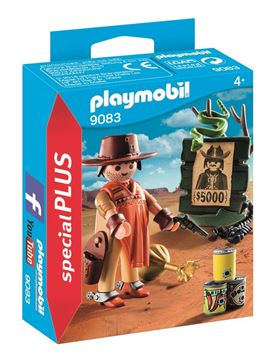 Picture of Playmobil - Cowboy With Wanted Poster